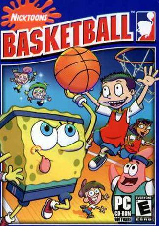 Nicktoons basketball (spongebob jimmy neutron) windows pc computer.