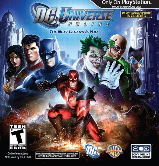 DC Universe Online (free version) download for PC